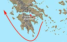 Map of Greece - click to enlarge