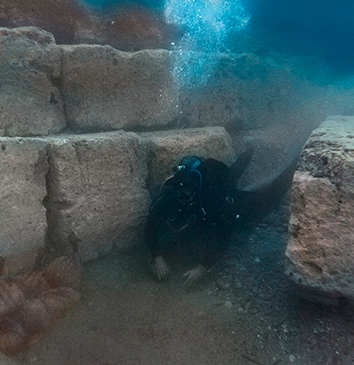 Remains of Roman harbour discovered in Corinth